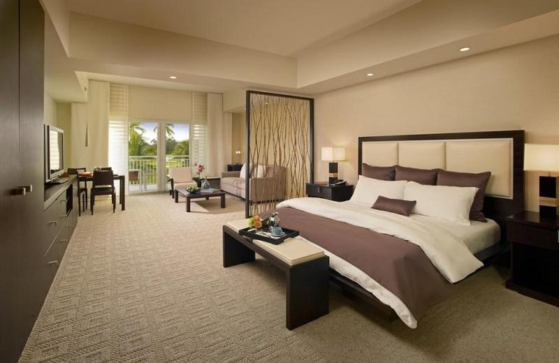 Guest room at Hyatt Miami at The Blue.