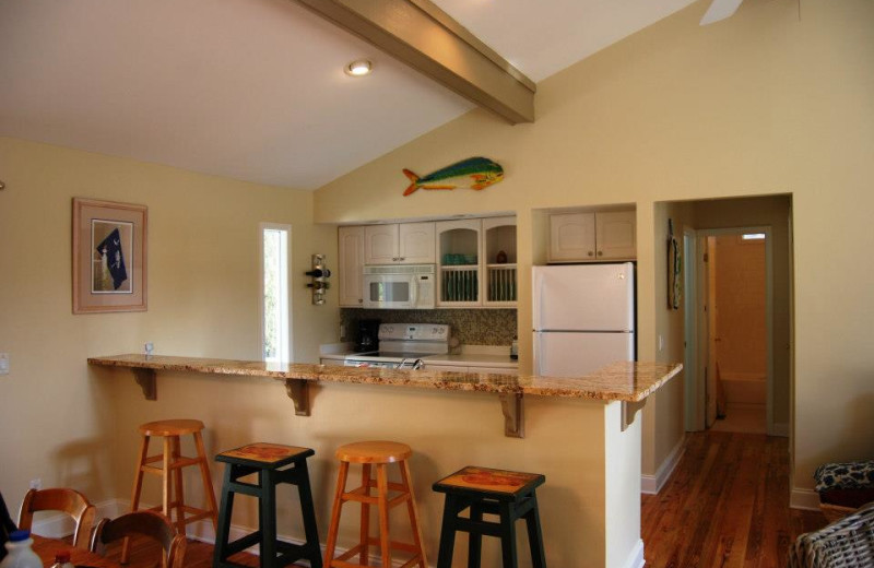 Vacation Rental Interior at Beachside Getaway