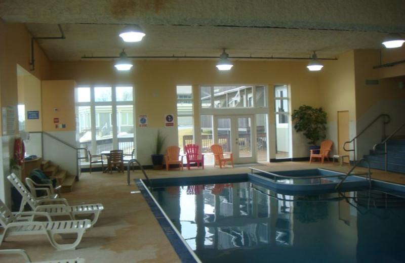 Indoor Pool at Atlantica Hotel
