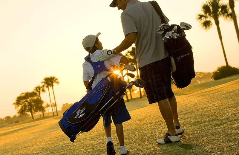 Golf course near Ocean Reef Resort.