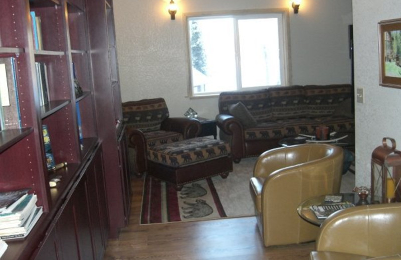 Interior vew at Northwoods Lodge.