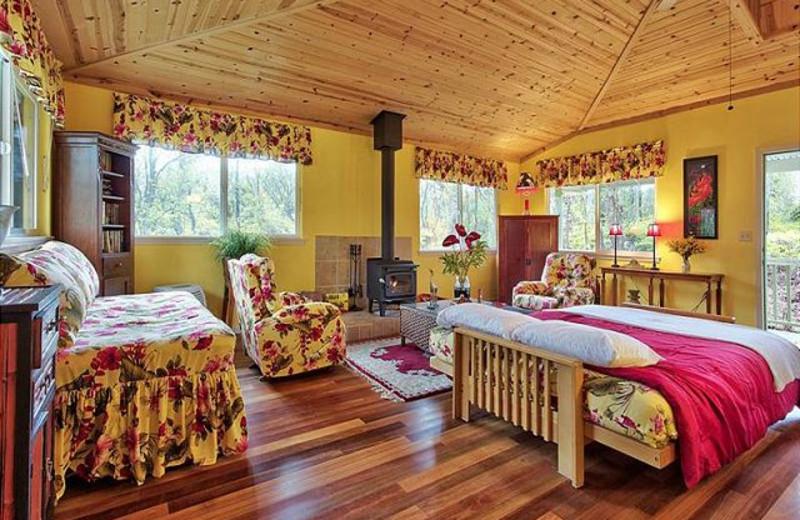 Vacation rental interior at Big Island Vacation Rentals.
