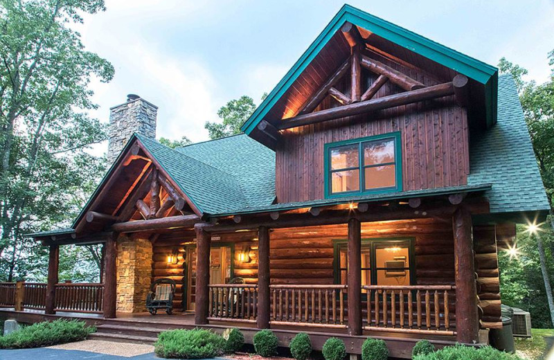 Rental exterior at Smoky Mountain Getaways.