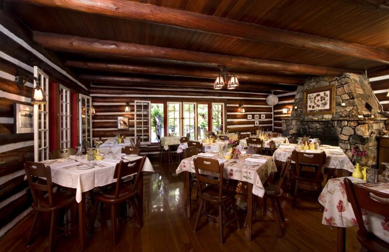 Dining at Killarney Lodge.