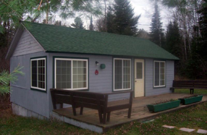 Cabin Exterior at Lady Bug Lodge