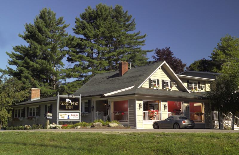 Exterior view of Grey Fox Inn.