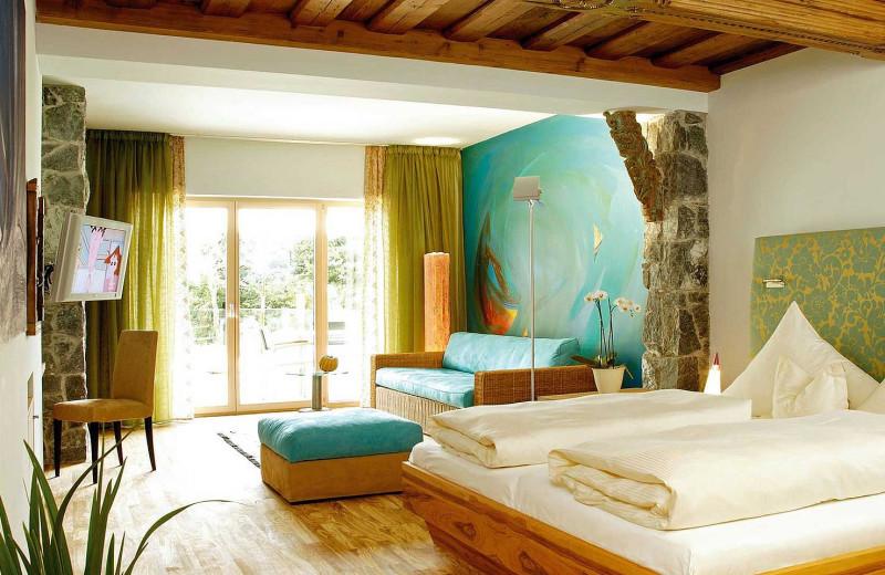 Guest room at Hotel Krallerhof.