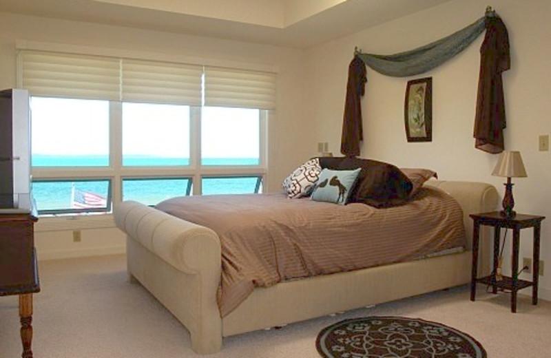 Bedroom at The Beach Haus Resort