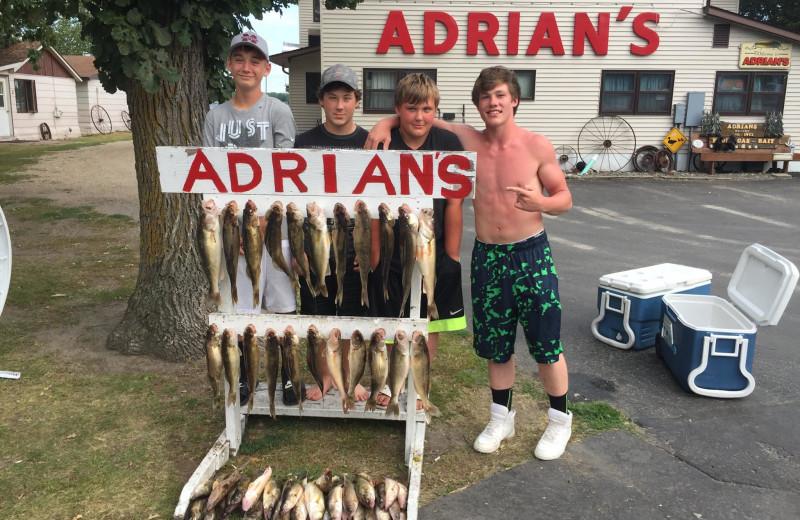 Fishing at Adrian's Resort.