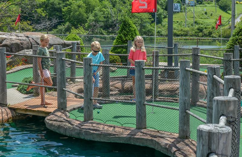 Mini golf at Railey Vacations.