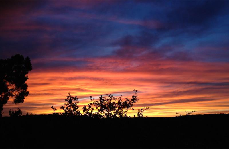 Sunrise at Travaasa Austin.