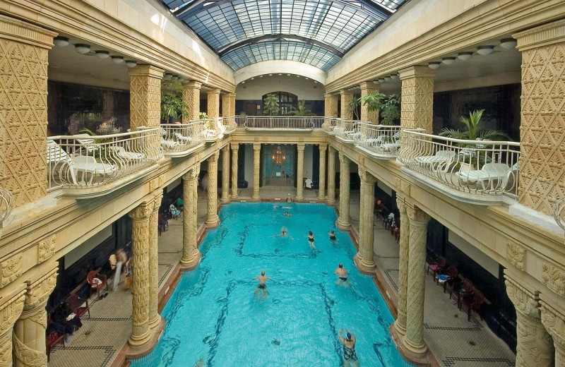Indoor pool at Danubius Hotel Gellért.