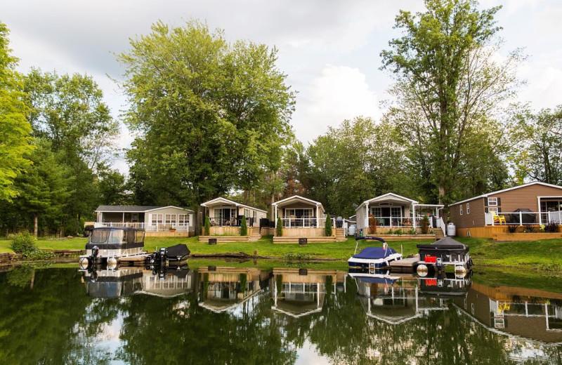 Cabins at Great Blue Resorts- Shamrock Bay Resort.