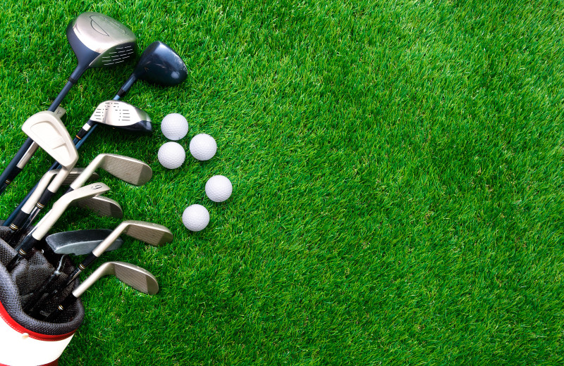 Golf near Idle Hours Resort.