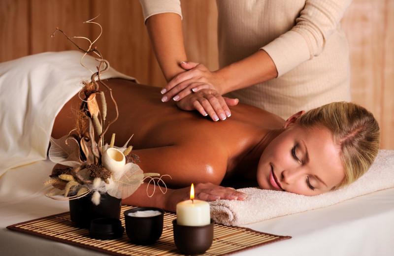 Enjoy a deep tissue massage at The Ridge Resorts.