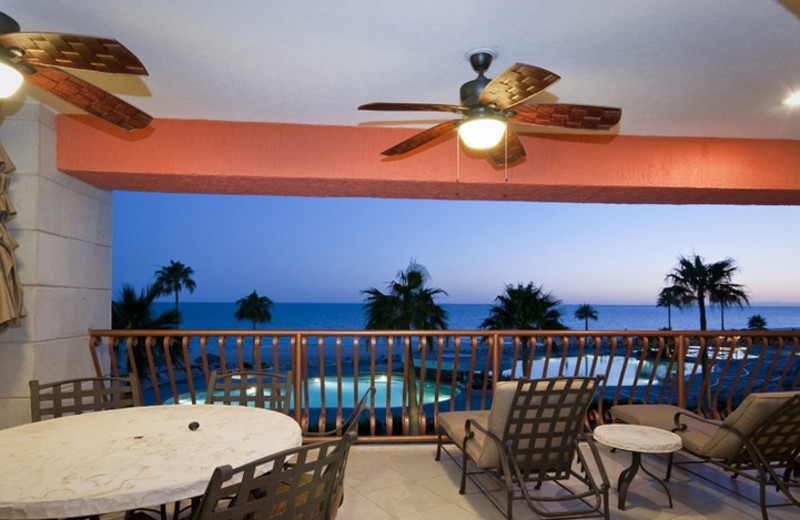 Balcony at Sonoran Sun Condos.