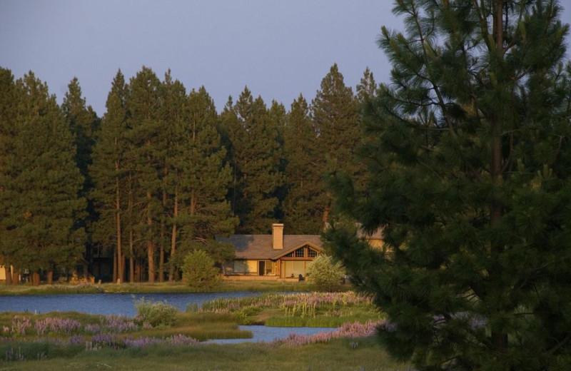 Cottage exterior at Black Butte Ranch.