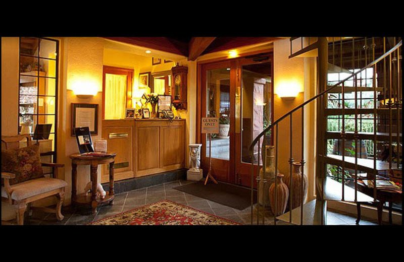 Lobby view at Sonoma Coast Villa & Spa Resort.