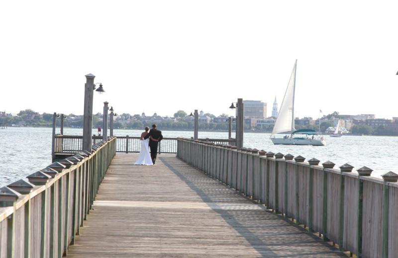 Romantic Walks at  Charleston Harbor Resort