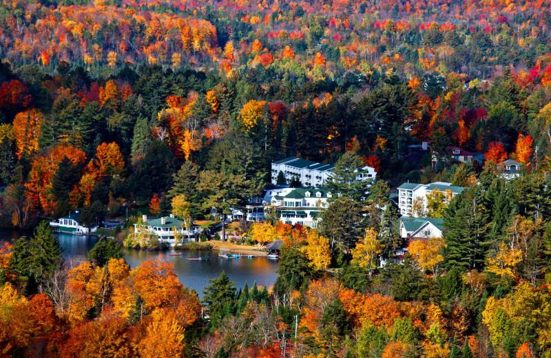 Fall at Mirror Lake Inn Resort & Spa.