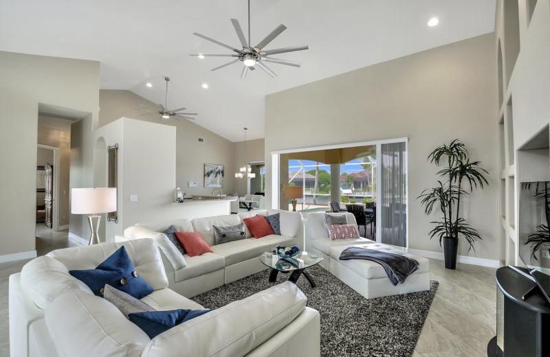 Rental living room at MHB Property Management.