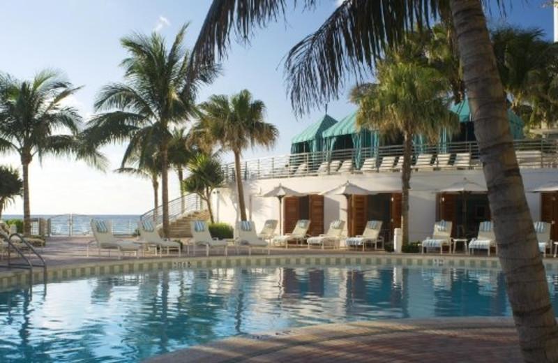 Pool area at The Westin Diplomat Resort.