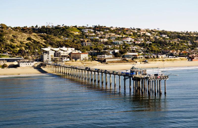 Nearby Scripps Pier in La Jolla, California
