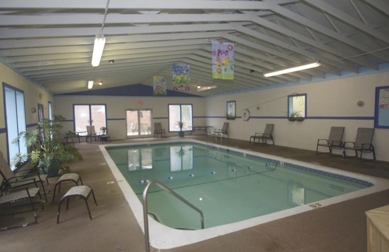Indoor pool at Highlands At Sugar Resort.