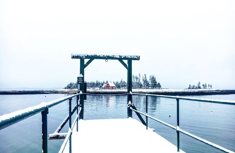 Dock near Newagen Seaside Inn.
