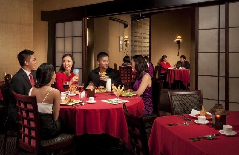 Dining at Turning Stone Resort Casino.