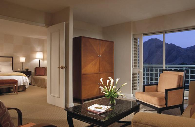Suite interior at Renaissance Esmeralda Resort.