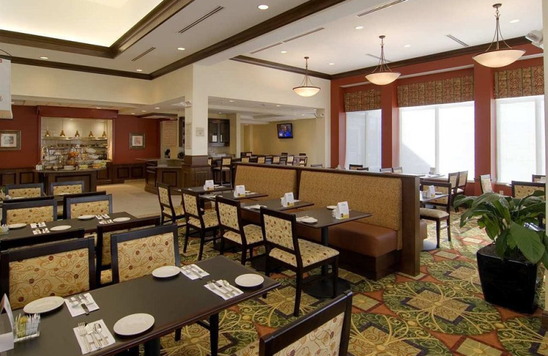 Dining at Hilton Garden Inn Cleveland East/Mayfield Village.