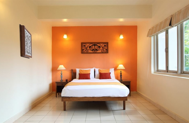 Guest room at Royal Goan Beach Club at Benaulim.