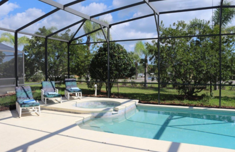 Rental pool at Orlando Premier Vacation Villas.