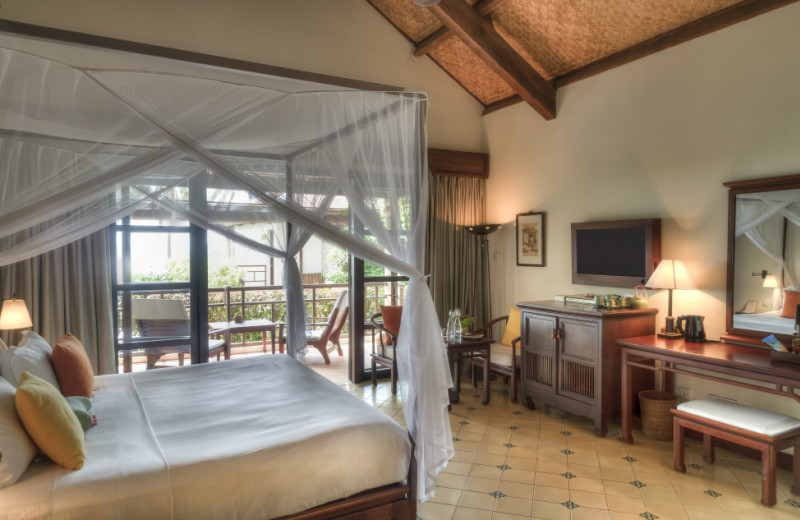 Guest room at Ana Mandara Resort.
