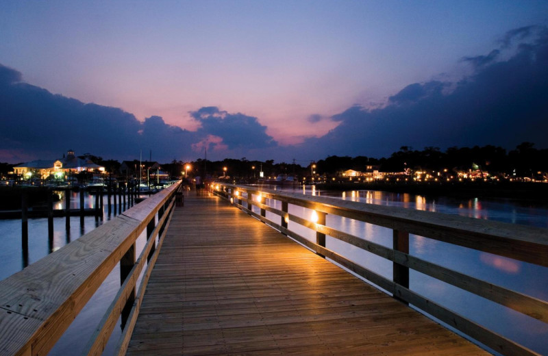 Murrells Inlet Marshwalk and Marina 1 mile from North Inlet Sports Lodge.
