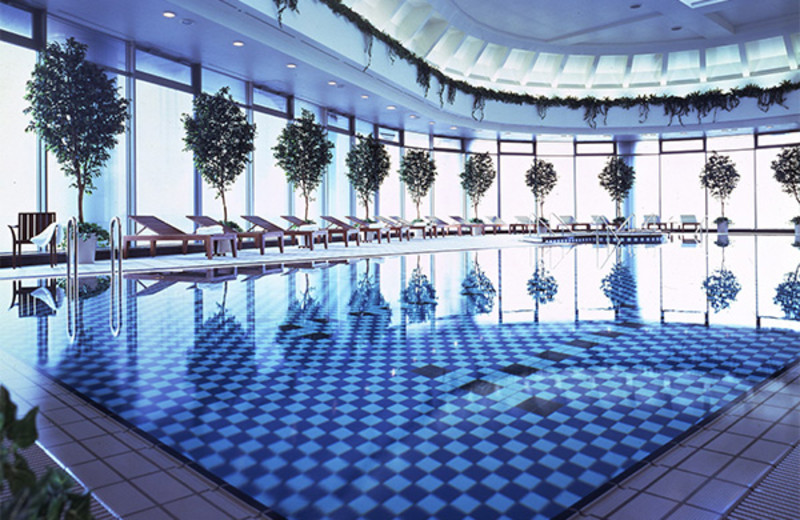 Indoor pool at Imperial Hotel.