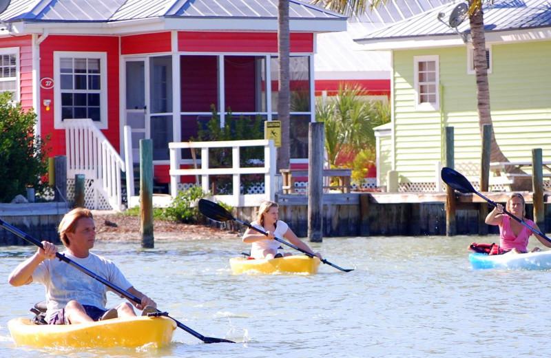Kayaking at Castaways At Blind Pass.