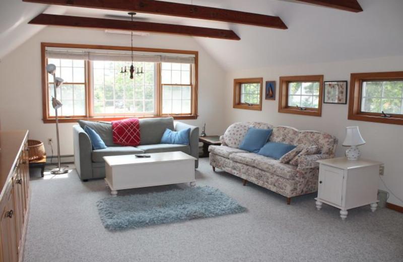 Rental living room at Hopper Real Estate.