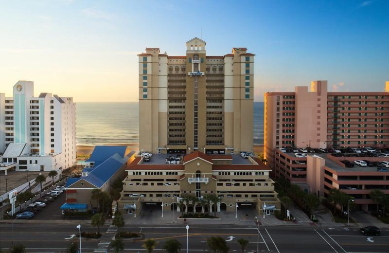 Exterior view of Paradise Resort.