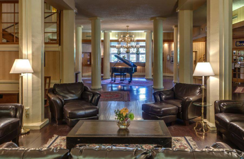 Lobby at Shawnee Inn and Golf Resort.
