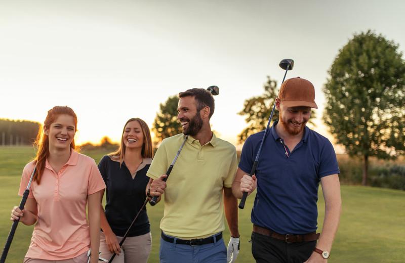 Golf at Canyon Services Vacation Rentals.