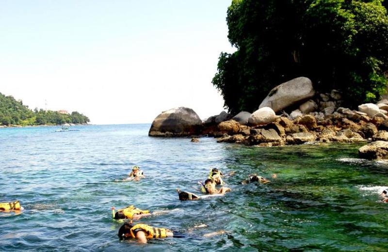 Snorkeling at Berjaya Tioman Beach Resort.