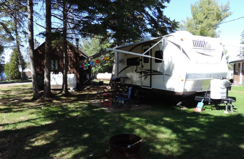 RV camp at Owls Nest Lodge.