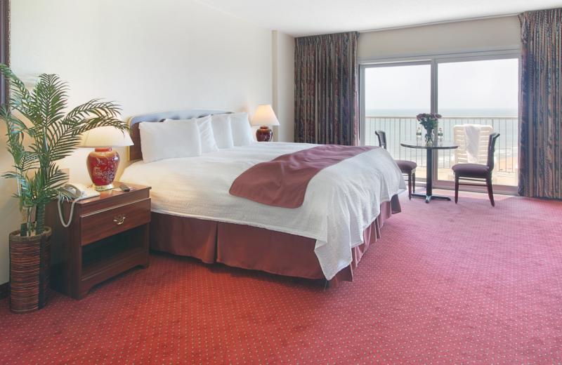 King bedroom at Grand Hotel & Spa.