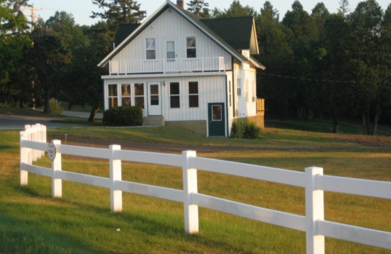 Farmhouse at Birchwood Lodge.