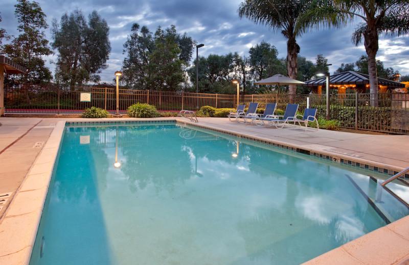 Outdoor pool at Staybridge Suites San Diego Sorrento Mesa.