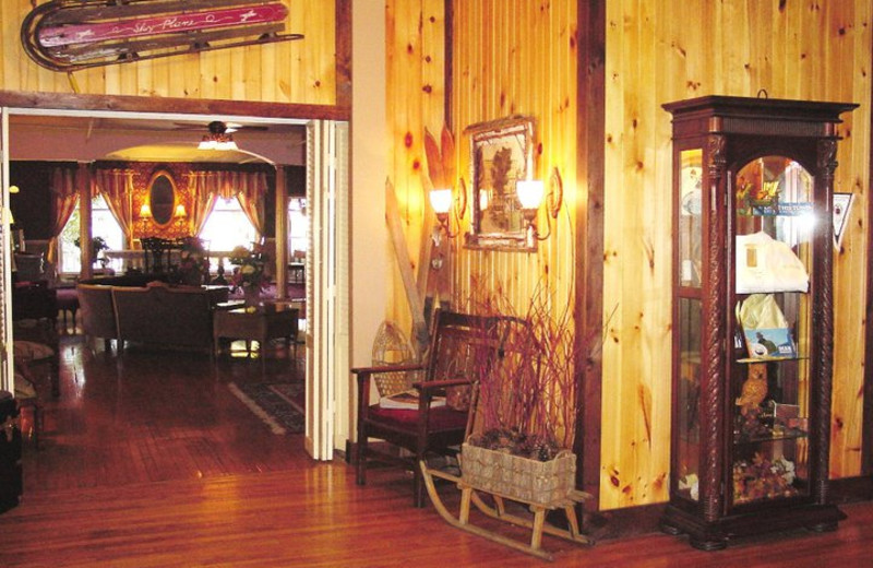Interior view of The Pines Inn of Lake Placid.
