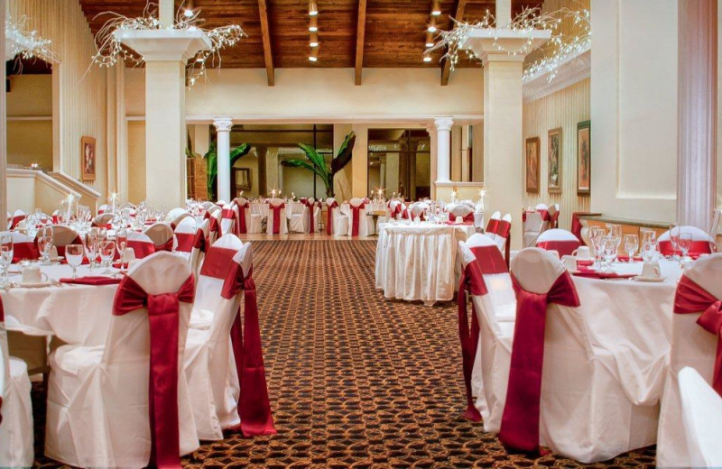 Wedding reception at Toftrees Golf Resort and Conference Center.