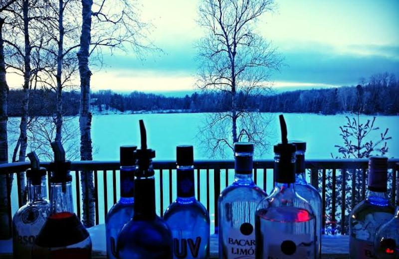 Lake view at Beaver Lodge Resort.